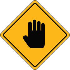 danger stop