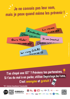 sms depistage