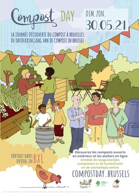 affiche Compost Day