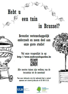 Enquête ULB tuin NL