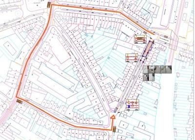 Plan déviation Kersbeek