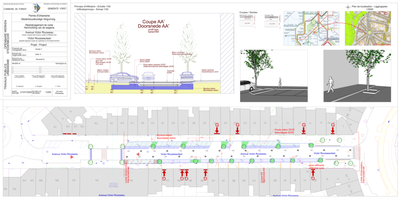 Projet Victor Rousseau plan