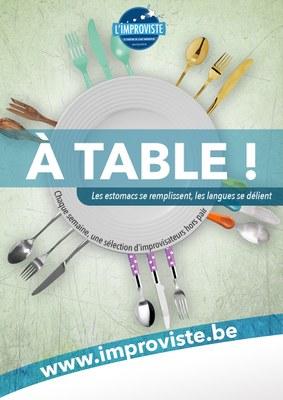 A table  improviste