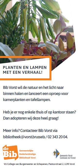 Planten en lampen met een verhaal