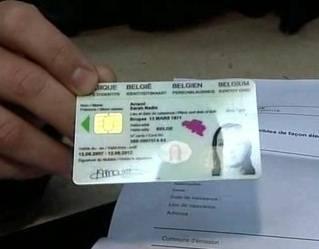 Identiteitskaart BELG